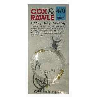 Cox & Rawle Heavy Duty Ray Rig (#4/0)