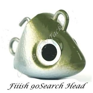 Fiiish Black Minnow 90 Search Jig Head - 8g