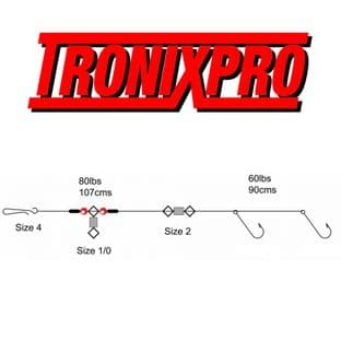 Tronix Pro Pulley Pennel - Size 3/0
