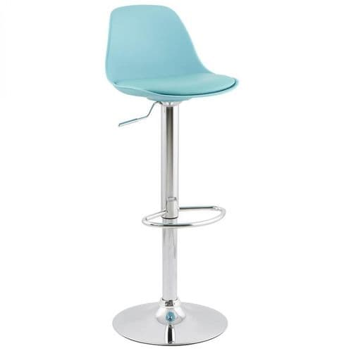 Allan Blue Bar Stool