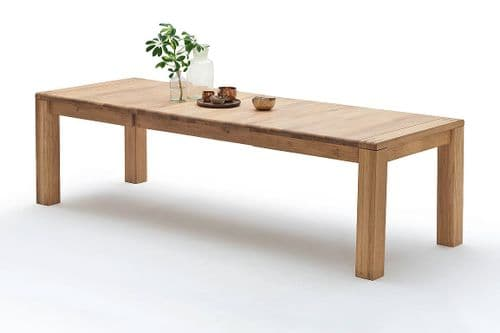 Alton 180cm Extra Large Wooden Extending Dining Table