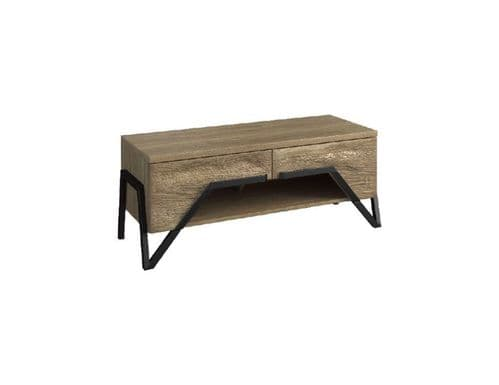 Apika 122cm Wooden Ready Assembled TV Stand