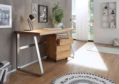 Benito 140cm Oak Office Desk