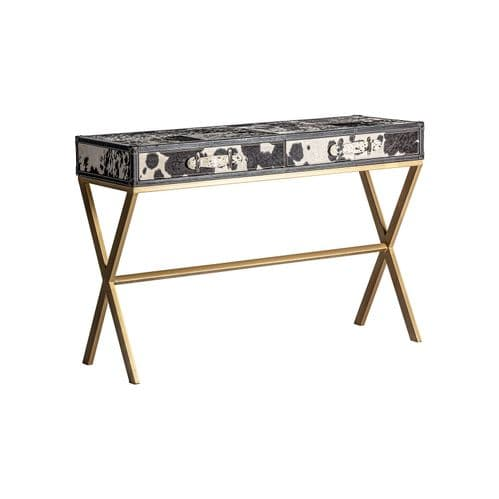 Carly Animal Print Console Table