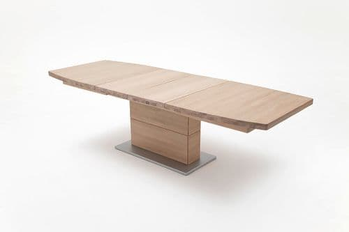 Clarice 180cm Beech Wood Extending Dining Table