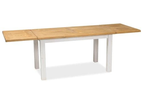 Clatter Dining Table Honey Brown/Pine Patina Home Furniture