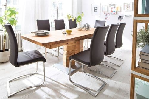 Coleman 180cm Extending Wooden Dining Table