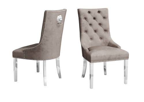 Danai Mink Velvet Dining Chair