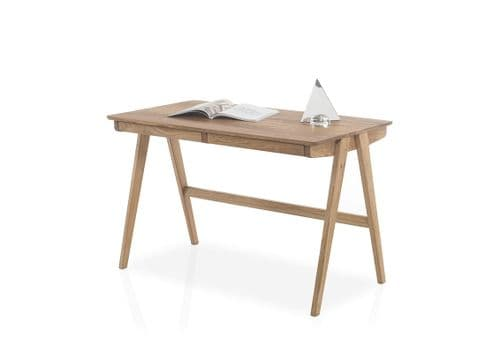Delouse 120cm Oak Office Desk