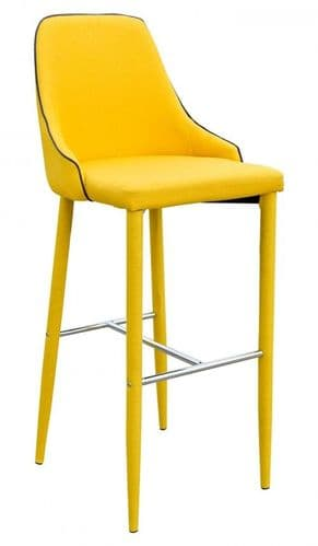 Denton Yellow Bar Stool