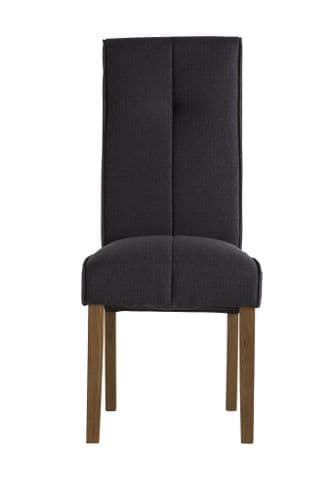 Dover Black Fabric Dining Chair