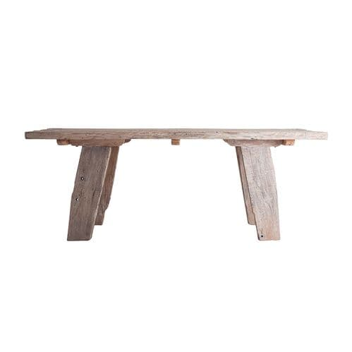 Enoch 260cm  Large Rectangular Wooden Rustic Dining Table