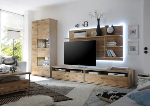 Esperee 248cm  Wide TV Stand With Optional Wall Mount