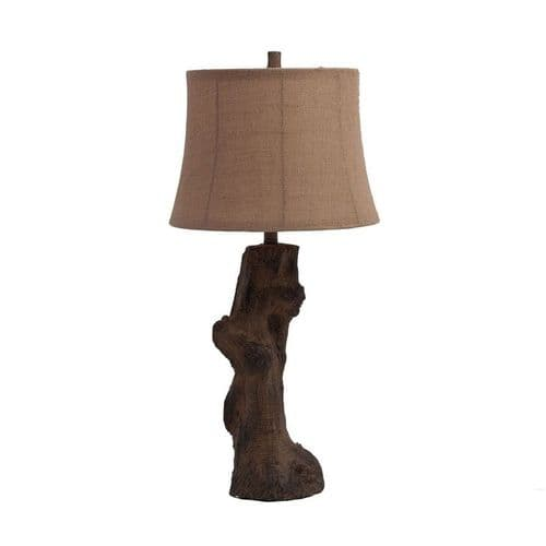 Ethnic Inspired Resin Table Lamp