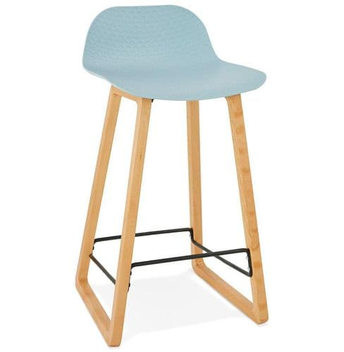 Geko Blue Bar Stool