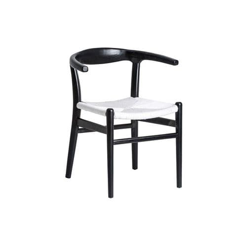 Gilly Black And White Two Tone Dining Chair