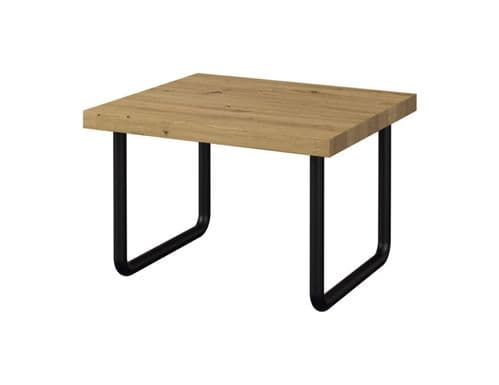 Graham Large Solid Wood Ready Assembled Side Table