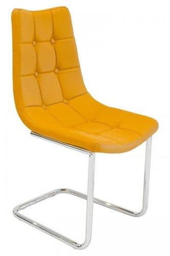Hallon Cheery Yellow Dining Chair