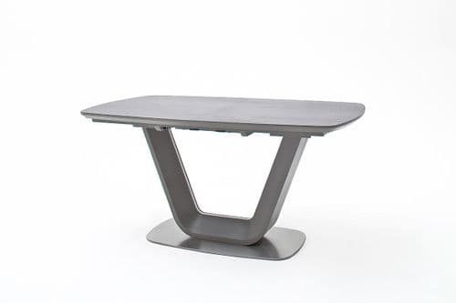 Jarrod Grey And Anthracite Ceramic  Extending  Table 160cm