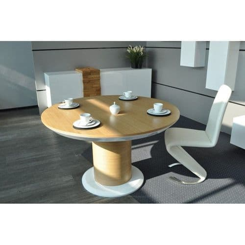 Leese 160cm Round Extending Dining Table