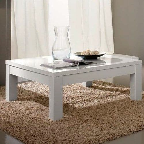 Lynette Coffee Table White Home Furniture