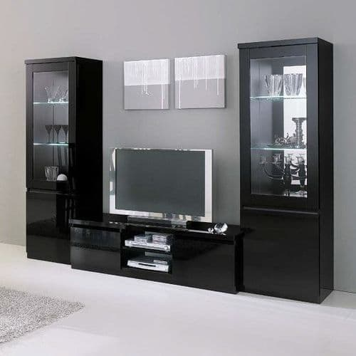 High Gloss Lacquer Finish Lynette TV Stand