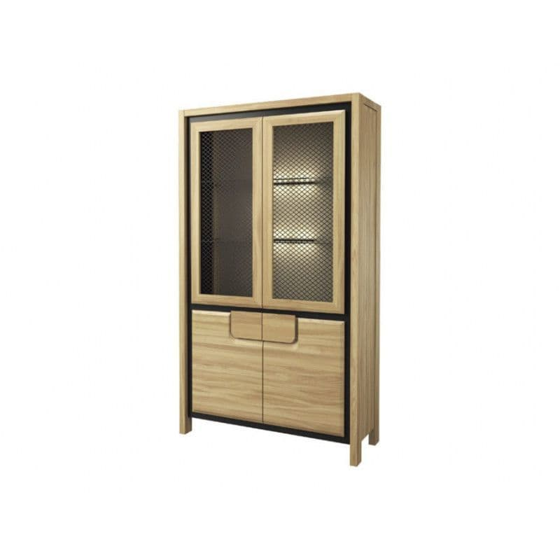 Nicholas Wooden Assembled Display Cabinet