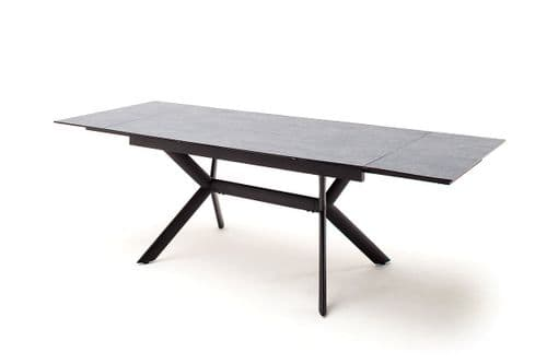 Stilo 160cm  Grey Stone Look  Extending Dining Table