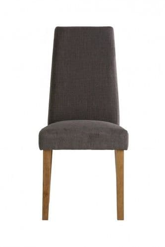Tilly Graphite Grey Fabric Dining Chair