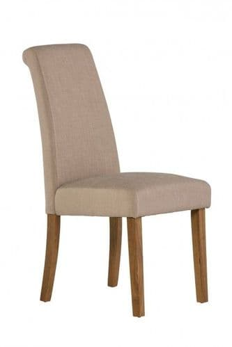 Tilly Natural Fabric Dining Chair