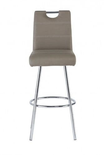 Valance Taupe Bar Stool