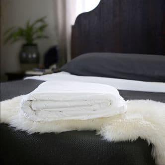 Double Mulberry Silk-Filled Duvet - 100% Natural, Hand-finished to Perfection