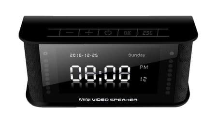 MVS03 Clock Radio with a hidden Spy Camera -  Full HD 1080P /Motion Activated ...