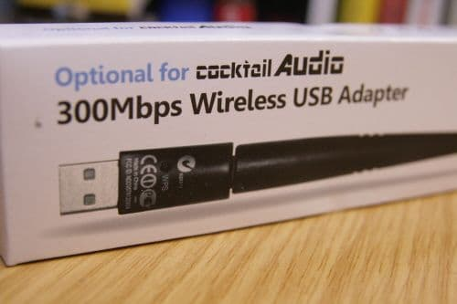 Cocktail Audio Antenna Wireless USB Dongle