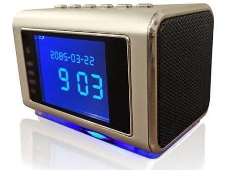 Motion Activated SPY CAMERA CLOCK with IR <span style=