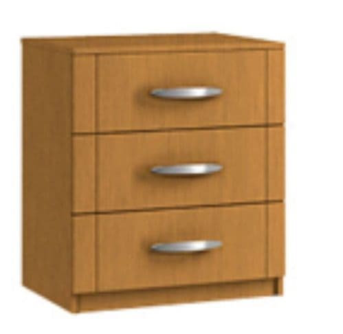 Capri 2 Drawer Bedside (2)