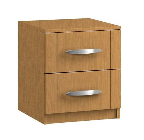 Capri 2 Drawer Bedside