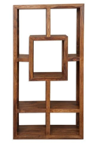 Cube Petite Open Back Display Cabinet