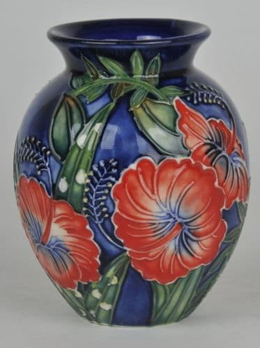 Hibiscus pot belly Vase