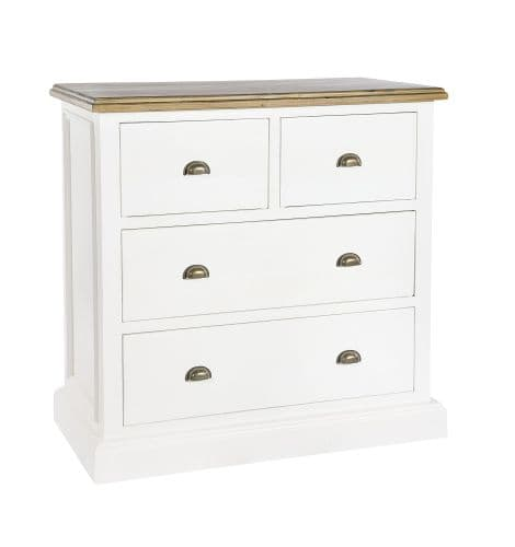 Lulworth 2 over 2 Drawer Chest