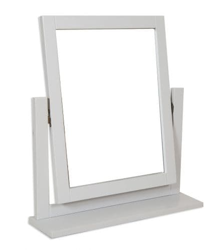 Melbourne French Grey Dresssing Table Mirror