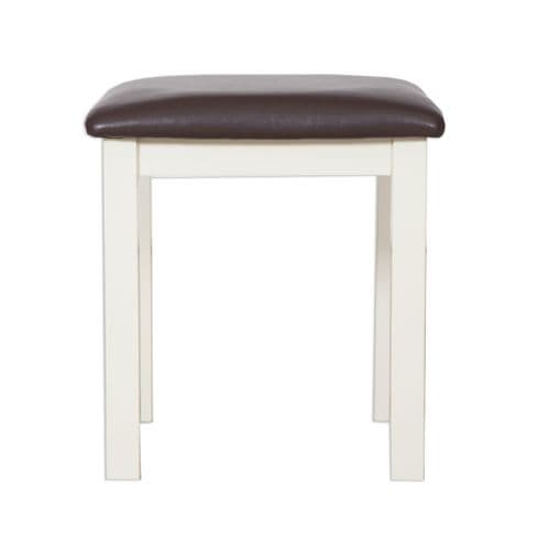 Melbourne Ivory Dressing Table Stool