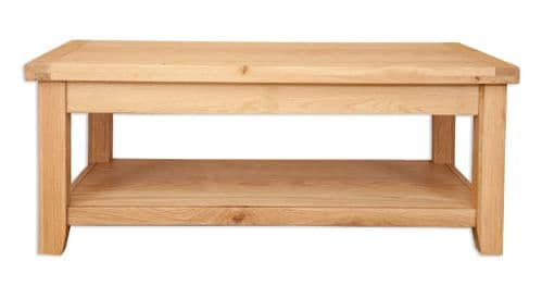 Melbourne Natural Oak Coffee Table