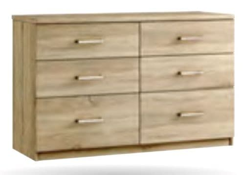 Modena 6 Drawer Twin Chest