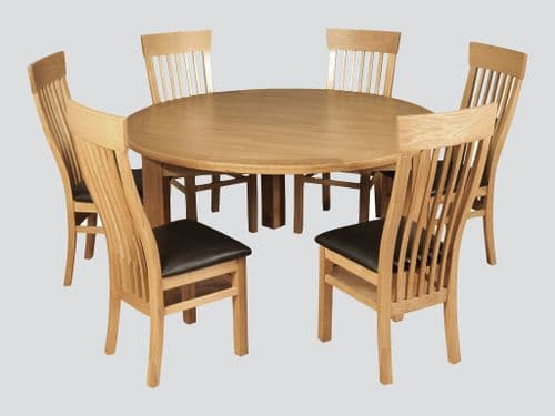 Treviso Round Dinning Table