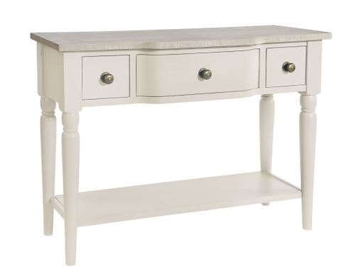 Warwick Ivory Console Dressing Table