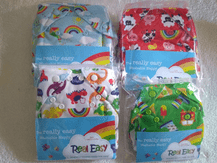 CLR Real Easy Washable Nappy Varying Sizes and Prints