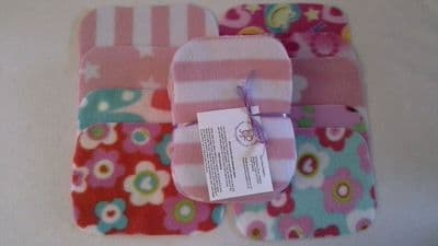 Fleece Wipes pack 20 Girl Prints