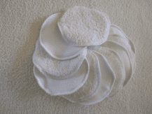 Terry Washable Cleansing Pads Pack 10 Special Offer! Various Prints