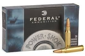 Federal 375 H&H Mag Power Shok 270gr